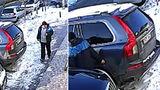 В Кишиневе ищут мужчину, царапающего припаркованные автомобили