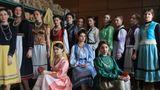 В Чадыр-Лунге прошёл показ платьев в гагаузском национальном стиле