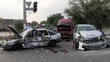 ДТП с участием трёх машин в Тирасполе: есть пострадавшие