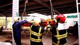 Спасатели оказали помощь мужчине, упавшему с высоты