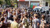 Протест в Кишиневе продолжился маршем по улицам города
