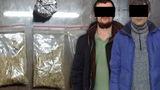 Патрульные задержали двух мужчин с этноботаническими наркотиками