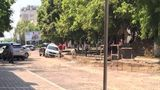 В Тирасполе два автомобиля провалились в траншеи от ремонтных работ