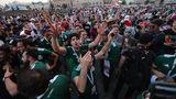 Прыжки мексиканцев после гола в ворота Германии вызвали землетрясение
