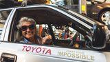 81-летняя жительница Южной Африки доехала на старой Toyota до Лондона