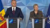 Игорь Додон: Я попросил НАТО не торопиться с открытием бюро