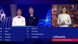 Ведущая из Литвы воскликнула «Слава Украине!» в эфире Евровидения