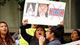 Мексика встретила инаугурацию Трампа небольшим митингом протеста