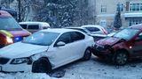 В Бельцах у роддома произошла авария: пострадал маленький ребёнок