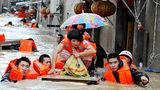 44 ადამიანი დაიღუპა ჩინეთში წყალდიდობის შედეგად