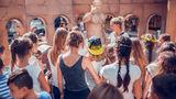 50 школьников побывали в Shopping MallDova на выставке «Древний Рим»  ®