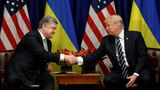 Трамп обсудил с Порошенко урегулирование ситуации на востоке Украины и реформы