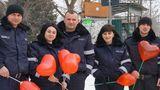 Полиция в Гагаузии поздравляет граждан с Днём святого Валентина