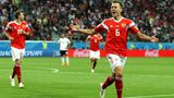 Денис Черышев – лучший игрок матча Россия – Египет