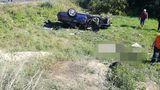 У озера Гидигич произошла авария, 18-летний водитель погиб на месте