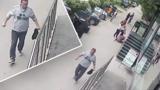 В Кишиневе неадекватный мужчина ударил двух женщин на улице
