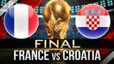 Франция и Хорватия готовятся к финалу