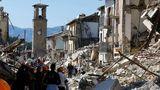 Из-за подземных толчков некоторые территории Италии сместились