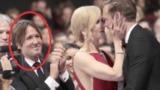"""На вручении премии """"Эмми"""" Николь Кидман поцеловала коллегу на глазах у мужа"""