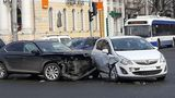 В центре Кишинева произошло еще одно ДТП: столкнулись 3 автомобиля