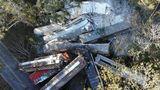 В США после аварии поезда с пропаном эвакуировали целый город