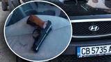Автохам наставлял боевой пистолет на жителей Кишинева и спускал курок