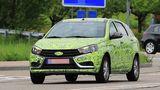 Фотошпионы поймали в Германии универсал Lada Vesta