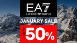 EA7 Emporio Armani: январские скидки до 50%