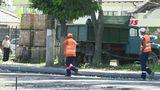 В Бельцах до сих пор не закончили ремонт дороги в районе автовокзала