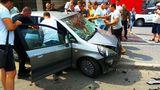 В Кишиневе произошло серьезное ДТП, есть пострадавшие