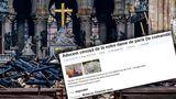 В Молдове продают пепел из собора Парижской Богоматери