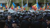 Cum au motivat prezența poliției în fața casei lui Plahotniuc