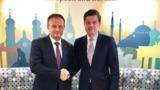 Канду встретился с помощником госсекретаря США по делам Европы и Евразии