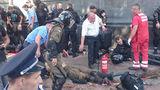 Пострадавших под Радой вывозят полицейские, скорых не хватает