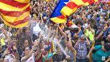 Catalanii în stradă, după arestarea celor opt miniştri regionali