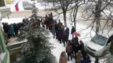В Кишиневе выстроились в очередь для участия в выборах президента России