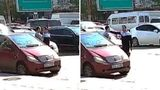 В столице водители устроили драку посреди дороги