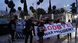 """""""Гудбай, президент войны"""" - в Афинах проводили Барака Обаму"""