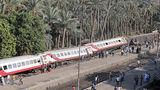 В Египте сошел с рельсов пассажирский поезд, пострадали десятки человек