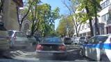 Accident provocat intenționat în Capitală. Momentul, filmat