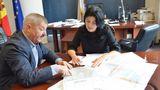 Silvia Radu va pleca în prima sa deplasare în calitate de primar