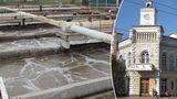 Представители примэрии: Станция очистки сточных вод работает исправно
