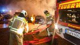 Zece mașini încendiate in Germania în timpul unui miting
