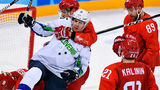 Российские хоккеисты забросили словенцам восемь шайб на Олимпиаде