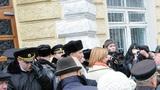 Протест у примарии Кишинева: «Киртоакэ на мусор!»