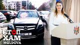 Mașina deputatului Alina Zotea, parcată aiurea în Capitală