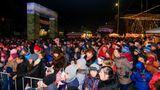 Тысячи людей отметили новогодние праздники на площади в Оргееве