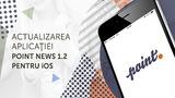 Aplicația Point News pentru iOS a fost actualizată
