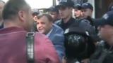 Андрей Нэстасе пытался прорвать полицейский кордон у здания ВСМ