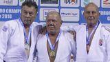 Три молдавских дзюдоиста стали чемпионами Европы среди ветеранов
